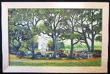 Helen LaFrance/ Church Picnic/ Outsider Art
