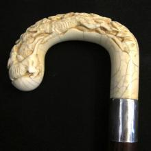 Ivory Multiple Dog Walking Stick