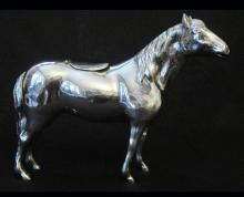 Silver Horse/Cow Creamer, Dutch 1900