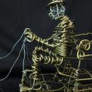 Vannoy Streeter Wire Sculpture, Hearse