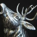 German Sterling Silver Stag Cup