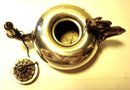 c. 1880 AESTHETIC PERIOD STERLING SILVER/BRONZE CIGAR LIGHTER/GORHAM/DRAGON HANDLE