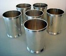 STERLING SILVER JULEP CUPS/NO MONOGRAM/MANCHESTER