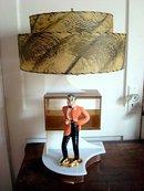 EAMES ERA LAMP/MID-CENTURY MODERN/MAN IN TUXEDO