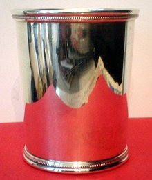 TRUMAN JULEP CUP/STERLING SILVER/RARE FIND/1940s PRESIDENTIAL ERA