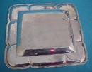 Card Tray Mexico 925/1000 Sterling Silver