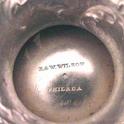 R. & W. Wilson , Philadelphia HOT WATER URN
