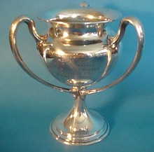 Loving Cup Horse Show Trophy Gorham sterling