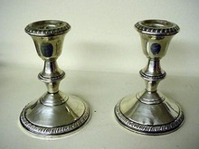 Silver Candlesticks sterling
