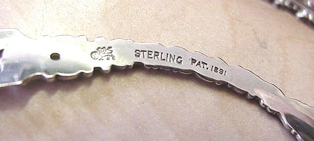 Louis XV Whiting  Individual  Asparagus tongs pair sterling