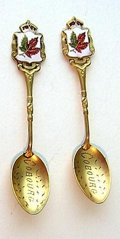 Cobourg Souvenir Spoon