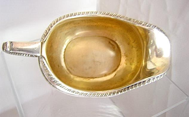 Wm Brown Creamer London 1777-78 Sterling Silver
