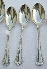 Norfolk Oval Soup spoons Three Gorham Sterling