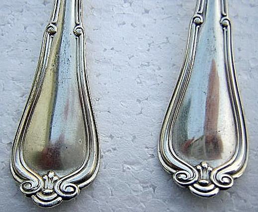 Norfolk sugar spoon Gorham Sterling Silver