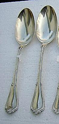 Norfolk Tablespoons Two Gorham Sterling Silver