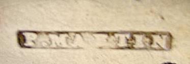 WmW White New York NY Coin silver teaspoon 1827- 1841