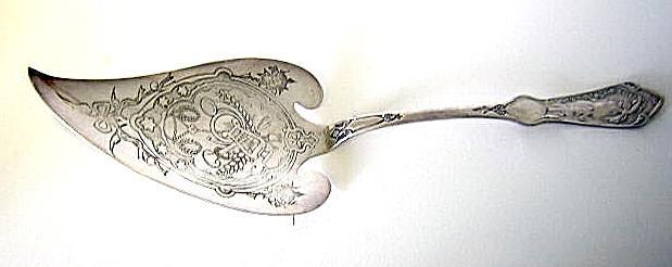 Figural Woman Pie Server Reed & Barton