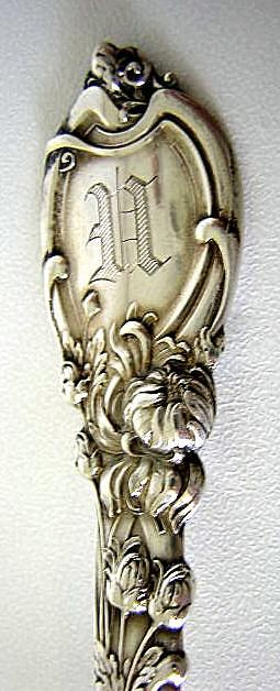 La Parisian Citrus Spoon chrysanthemum Reed & Barton Sterling silver