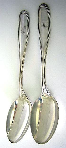 William Penn Tablespoons  Alvin Sterling Silver