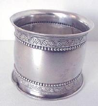 Napkin Ring Gorham 1879 sterling #1275