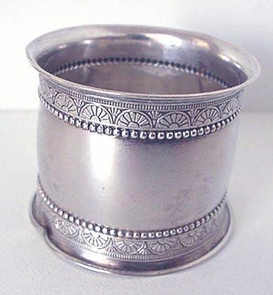 Napkin Ring Gorham 1879 sterling #1275