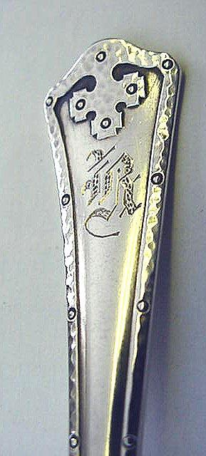 Carmel Wallace Art & Crafts teaspoon  sterling