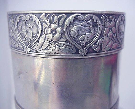 Napkin Ring Gorham ZODIAK sterling silver rare