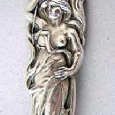 Raphael Alvin Meat Fork  Poppy  figural woman