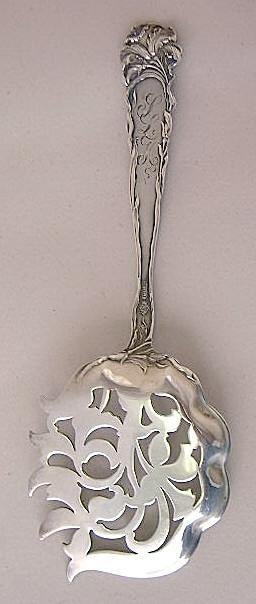 Raphael Alvin cucumber server pierced with tines Sterling