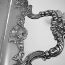 Tray large Gorham Silverplated with grapes and leaves