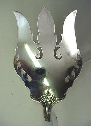 Hepplewhite Vegetable fork Gorham Sterling