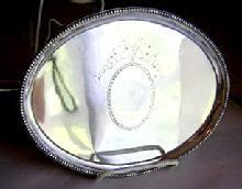 Tray for Teapot Joseph Herlot 1784 London