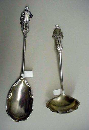 Nuremburg Gorham Berry Spoon Figural sterling