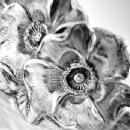 BOWL Unger Bros. Sterling Silver Floral Wild