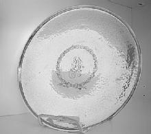 Hand Hammered Tray Deco Gorham Sterling Silver