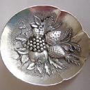 Repousse Bon Bon / Nut Spoon  Kirk Sterling Silver  Fruit  in bowl