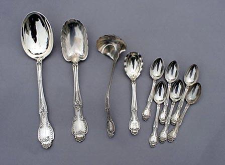 Richelieu Tiffany Sugar Spoon Sterling Silver