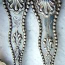 Charles II  6  Ice Cream Spoons D & H sterling