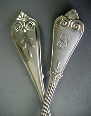 Beekman ice cream spoons Tiffany Sterling