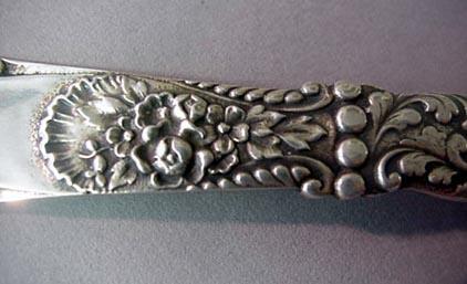 Floral Cast Bon Bon  Gorham Sterling Silver