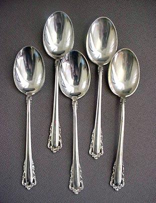 Carillon Place Soup Spoons Lunt Sterling Silver