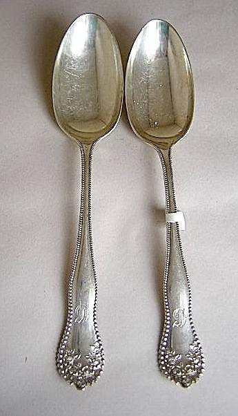 Lancaster Rose 11 Oval Soup Spoons  Gorham
