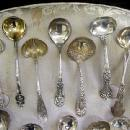 CREAM ladles many makers sterling