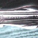 Radiant Whiting pierced sterling ICE SPOON