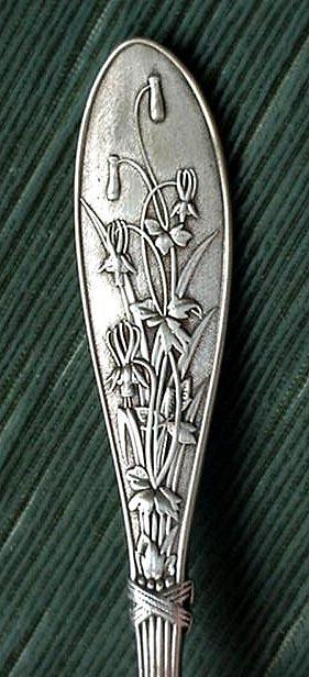 Honeysuckle Whiting Teaspoon sterling silver