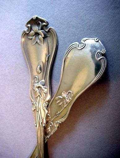 VOILET Whiting sterling TEASPOON