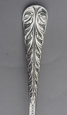 Acanthus Soup Ladle Rogers Bros. silverplated
