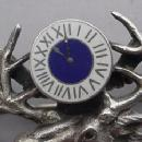 BPOE pin with Figural Elks Head and enamelled