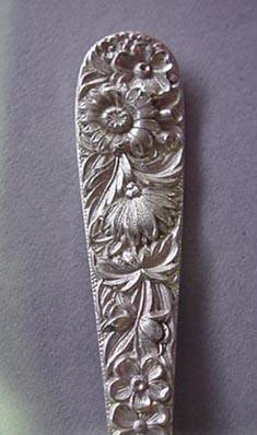 Repousse Jelly Server S. Kirk & Son Sterling