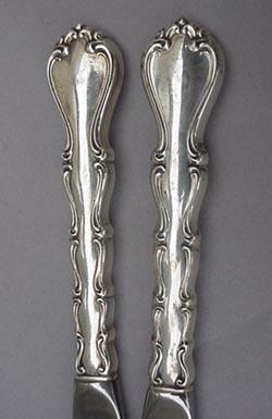 Country Manor Hollow Handled Butter Knives Towle Sterling Silver